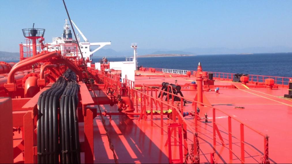 cubierta barco